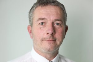 Portrait of Peter Jarman