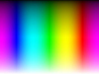 rainbow gradient image of colours