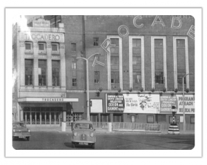 old photo showing the Trocadero when it was still on the old kent road
